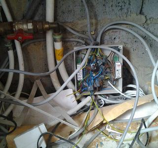 Electricité Verstraeten - Mise en conformité - AVANT